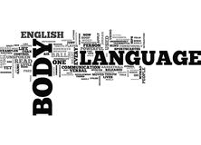 What Is Body Language Word Cloud. WHAT IS BODY LANGUAGE TEXT WORD CLOUD CONCEPT Stock Image