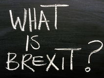 What Is Brexit? Stock Image