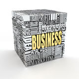 What is a business. Concept. Royalty Free Stock Images