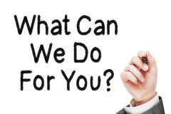 Free What Can We Do For You Stock Photo - 55784380