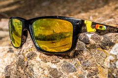 Rock Glasses in the sun Stock Photography