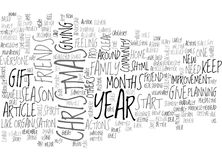 What Christmas And New Year Again Word Cloud Royalty Free Stock Image