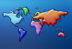 What a colourful world Royalty Free Stock Images
