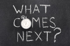 Free What Comes Next Royalty Free Stock Images - 97731179