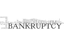 What The Credit Industry Doesn T Want You To Know About Bankruptcy Word Cloud Royalty Free Stock Image