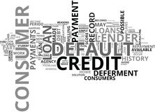 What Is Default And How Does It Affect My Credit Score Word Cloud. WHAT IS DEFAULT AND HOW DOES IT AFFECT MY CREDIT SCORE TEXT WORD CLOUD CONCEPT Royalty Free Stock Photo