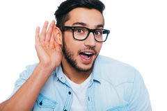 Free What Did You Say Royalty Free Stock Photos - 62793298