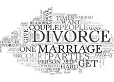 What Is A Divorce Word Cloud. WHAT IS A DIVORCE TEXT WORD CLOUD CONCEPT Royalty Free Stock Images