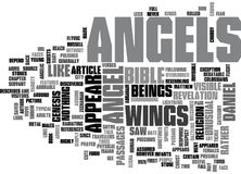 What Do Angels Look Likeword Cloud Royalty Free Stock Photos