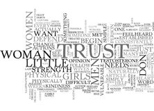 What Do Men Want From Women Word Cloud Royalty Free Stock Images