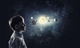What do you know about space? Royalty Free Stock Photography