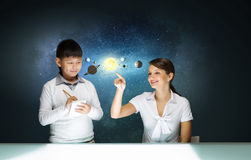 What do you know about space? Royalty Free Stock Photos