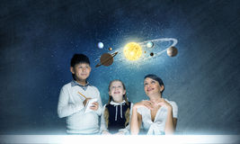 What do you know about space? Stock Images