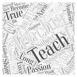 So What Do You Want to Teach word cloud concept word cloud concept vector background Royalty Free Stock Image