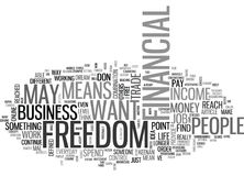 What Does Financial Freedom Mean To You Word Cloud. WHAT DOES FINANCIAL FREEDOM MEAN TO YOU TEXT WORD CLOUD CONCEPT Stock Image