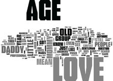 What Does Love Mean See How Year Old Kids Describe Loveword Cloud Stock Photo