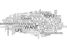 What Does It Mean To Be An Expatriate Partword Cloud. WHAT DOES IT MEAN TO BE AN EXPATRIATE PART TEXT WORD CLOUD CONCEPT royalty free illustration