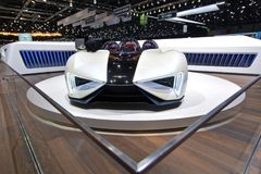 88th Geneva International Motor Show 2018 - Techrules Ren stock image
