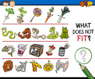 Free What Does Not Fit Game Cartoon Royalty Free Stock Photo - 52785205
