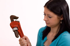 What Does a Pipe Wrench Do? Stock Photos