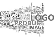 What Does Your Logo Say About You Word Cloud Royalty Free Stock Photo