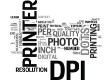 What Is Dpi Dots Per Inch Word Cloud. WHAT IS DPI DOTS PER INCH TEXT WORD CLOUD CONCEPT Stock Photo