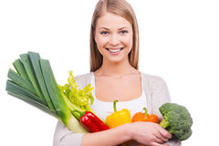 We are what we eat. Royalty Free Stock Photo