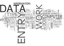 What Exactly Is Data Entry Word Cloud. WHAT EXACTLY IS DATA ENTRY TEXT WORD CLOUD CONCEPT Stock Image
