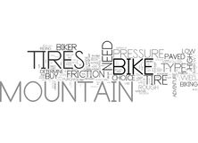 What Are The Factors Which Determine Your Mountain Bike Tires Word Cloud Royalty Free Stock Photo