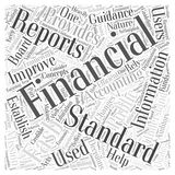 21 What is the FASB word cloud concept  background. Text Royalty Free Stock Photography