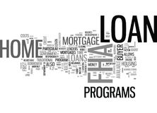 What Is An Fha Mortgage Loan Word Cloud Stock Images