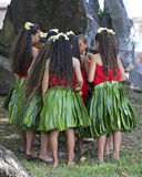 What Girls Do Best. Event:  Aloha Festival 2015 Stock Photography