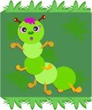 What Green Caterpillar Royalty Free Stock Photos
