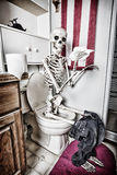 What Happens in the Bathroom Royalty Free Stock Photography