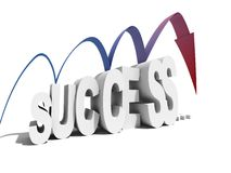 What happens after success. What happens after quick success Royalty Free Stock Photography