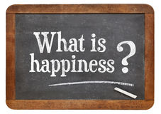 What is happiness question Royalty Free Stock Photography