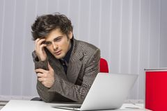 What have I done!? Business failure stock photos