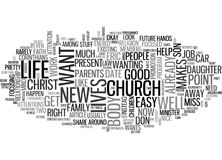 What We Have Word Cloud Stock Image