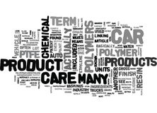 What The Heck Are Polymers And Do I Want Them On My Car Word Cloud Royalty Free Stock Images