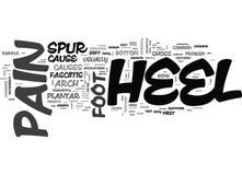 What Is Heel Pain Word Cloud Stock Photos