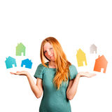 What house to choose ? Stock Images