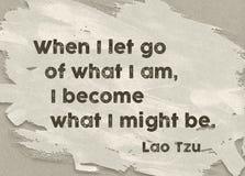 What I am Lao Tzu Royalty Free Stock Photo