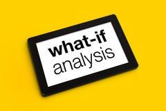 Free What If Analysis Royalty Free Stock Image - 49429966