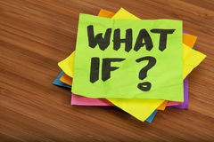 Free What If Question Stock Images - 18061284