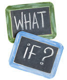 What if question Stock Image