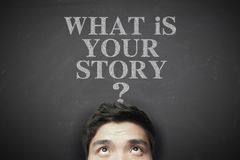 Free What Is Your Story Stock Image - 56332631