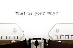 Free What Is Your Why Existential Question Stock Images - 146136264