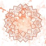 Oriental mandala motif Royalty Free Stock Photography