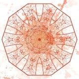 Oriental mandala motif Royalty Free Stock Photos
