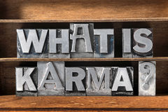 What is karma Royalty Free Stock Image